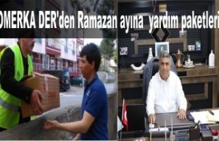 OMERKA DER'den Ramazan ayına özel yardım paketleri