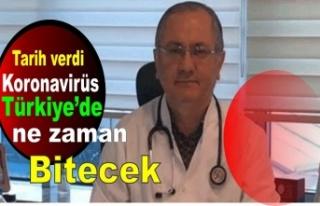 Prof. Dr. Servet Kayhan tarih verdi koronavirüs Türkiye'de...