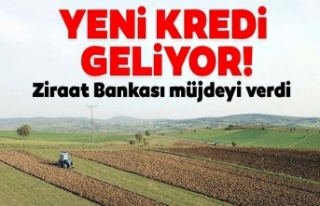 Ziraat Bankasından çiftçiye yeni kredi müjdesi