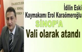 İdil'in Eski Kaymakamı Sinop'a vali olarak...