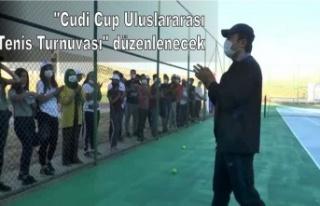 """""""Cudi Cup Uluslararası Tenis Turnuvası""""..."""