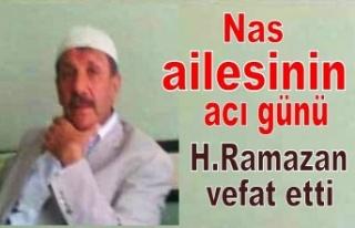 H.Ramazan Nas vefat etti.