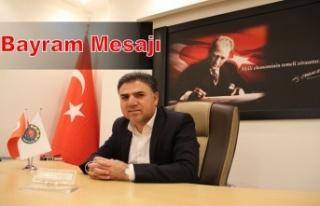 Ziraat Odası Başkanı Ahmet Yağan'ın Bayram...