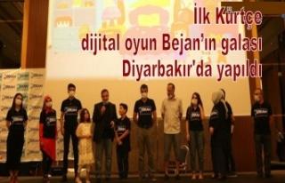 İlk Kürtçe dijital oyun Bejan'ın galası Diyarbakır'da...