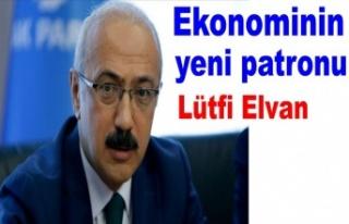 Hazine ve Maliye Bakanlığı görevine Lütfi Elvan...