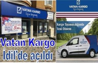İdil'de ilk defa bir Kargo şubesi açıldı