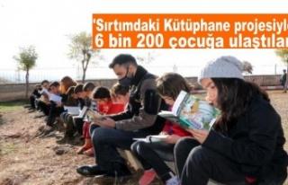 'Sırtımdaki Kütüphane projesiyle 6 bin 200...