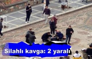 Akrabalar arasında çıkan silahlı kavgada kan aktı:...