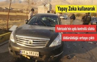 Fahrizade'nin uydu kontrollü silahla öldürüldüğü...