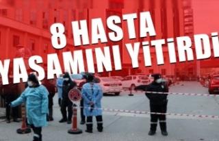 Hastanede oksijen tüpü patladı 8 Kovid-19 hastası...