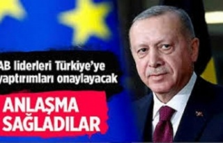 Reuters: AB liderleri Türkiye'ye yaptırımları...