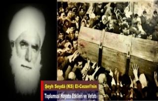 Şeyh Seydâ (KS) El-Cezerî'nin Toplumsal Hayata...