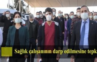 Cizre'de sağlık çalışanının darp edilmesine...
