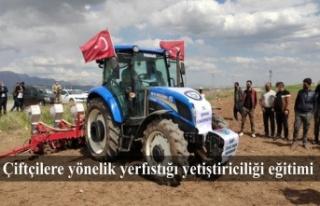Çiftçilere yönelik yerfıstığı yetiştiriciliği...