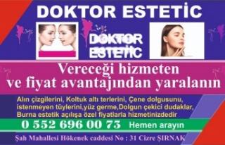 Doktor Estetik fiyat avantajlarıyla hizmette