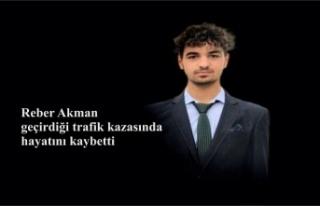 Reber Akman geçirdiği trafik kazasında hayatını...