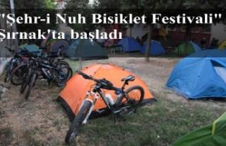 """""""Şehr-i Nuh Bisiklet Festivali"""" Şırnak'ta..."""