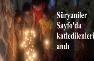 Süryaniler Sayfo'da katledilenleri andı
