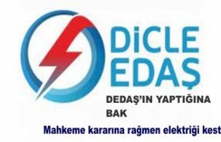 DEDAŞ'IN Yaptığına bak mahkeme kararına...