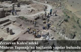 Zerzevan Kalesi'ndeki Mithras Tapınağı'na...