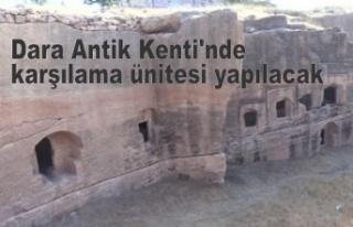 Dara Antik Kenti'nde karşılama ünitesi yapılacak
