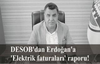 DESOB'dan Erdoğan'a 'Elektrik faturaları'...
