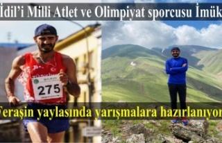 Milli Atlet Abduselam İmük Feraşin yaylasında...