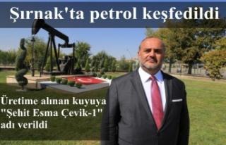 Şırnak'ta petrol keşfedildi
