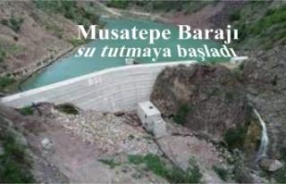 Şırnak'ta yapımı tamamlanan Musatepe Barajı...