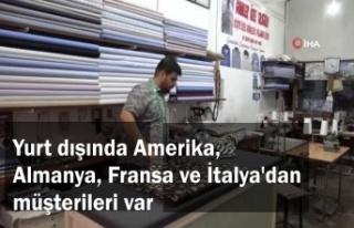 Mardin'de diktiği gömlekleri dünya çapında...