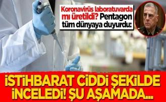 Koronavirüs laboratuvarda mı üretildi? Pentagon tüm dünyaya duyurdu