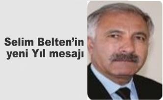 Selim Belten'den yeni yıl mesajı