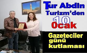 10 Ocak Gazeteciler Gününü Kutladı