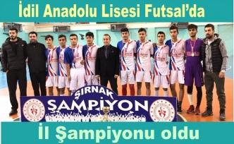 Futsal'da İl Şampiyonu oldu