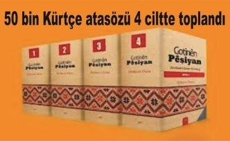 50 bin Kürtçe atasözü 4 ciltte toplandı