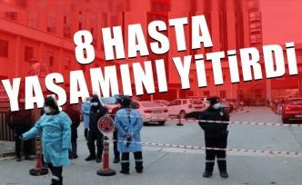 Hastanede oksijen tüpü patladı 8 Kovid-19 hastası hayatını kaybetti