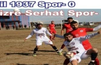 İdil 1937 Spor Cizre Serhat spor maçı