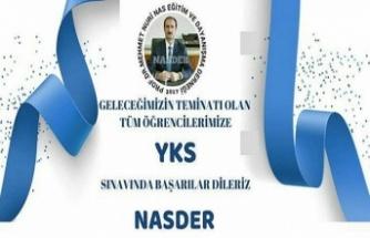 NASDER YKS Mesajı