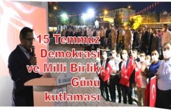 15 Temmuz Demokrasi ve Milli Birlik Günü kutlaması