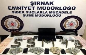 Cizre'de suç örgütüne operasyon 29 milyon TL'lik hareketlilik