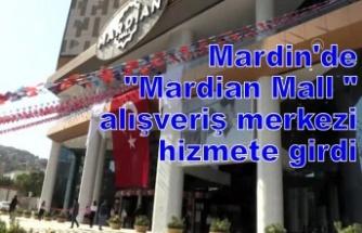 Mardin Mall açıldı