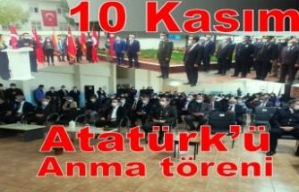 Atatürk'ü anma programı düzenlendi