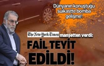 Muhsin Fahrizade suikastinde bomba gelişme! New York Times duyurdu!