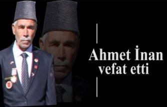 Ahmet İnan vefat etti