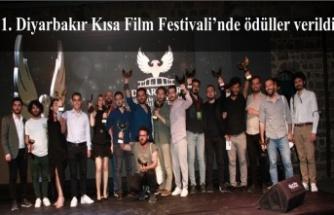 1. Diyarbakır Kısa Film Festivali'nde ödüller verildi