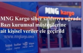 MNG Kargo siber saldırıya uğradı: Bazı kurumsal müşterilerine ait kişisel veriler ele geçirildi