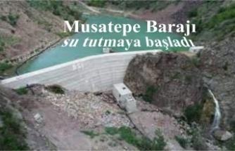 Şırnak'ta yapımı tamamlanan Musatepe Barajı su tutmaya başladı