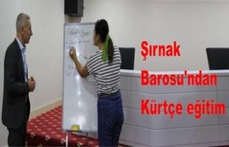 Avukatlara Kürtçe eğitimi