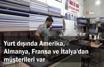 Mardin'de diktiği gömlekleri dünya çapında satıyor
