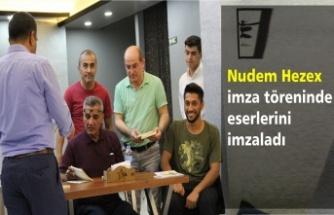 Nudem Hezex Kitap tanıtım ve İmza töreni gerçekleştirildi